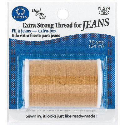 Coats & Clark Coats - Thread & Zippers 24787 Extra Strong Thread For Jeans 70 Yards-Golden