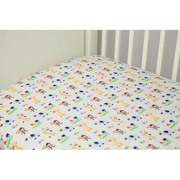 Riegel Ready Set Go Crib Sheet