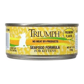 Triumph Pet Industries Triumph Pet -Triumph Seafood Canned Kitten Food - 24/5.5 Oz