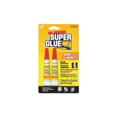 SUPER GLUE TUBES (DOUBLE PACK)