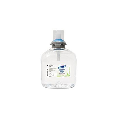 PURELL TFX Green Certified Instant Hand Sanitizer Foam Refill, 1200mL, Clear