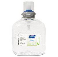 PURELL TFX Green Certified Instant Hand Sanitizer Gel Refill, 1200mL, Clear