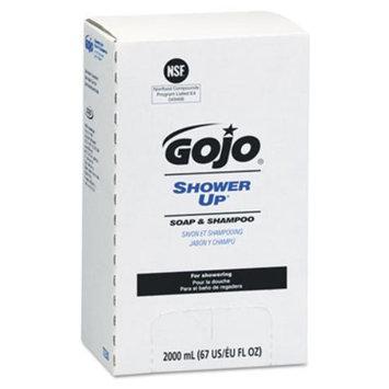 Gojo Shampoo and Conditioner SHOWER UP Soap & Shampoo, 2,000 mL