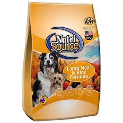 Super-dog Pet Food Company NutriSource Lamb and Rice Dry Dog Food 6.6lb