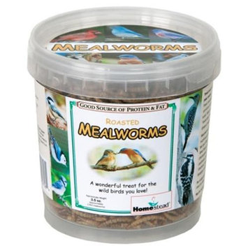 Homestead 3.5 oz Pack of Dried Mealworms