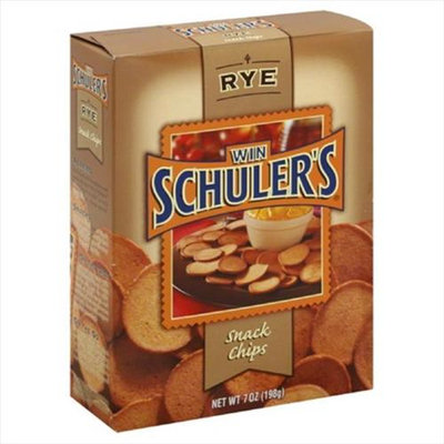 Win Schuler Chip Snack Rye Natural 7 Oz Pack Of 12