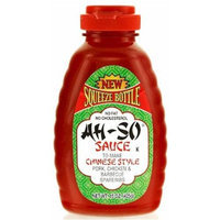 Ah So Ah-So Sauce Bbq Original Chinese Style Squeeze Bottle 15 Oz. (Pack Of 6)