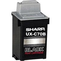 Sharp Ink Cartridge Black 500 Pages UXC70B