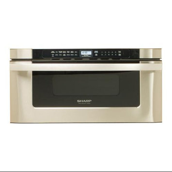 Sharp - 12 Cu Ft Built-In Microwave Drawer - Stainless-steel