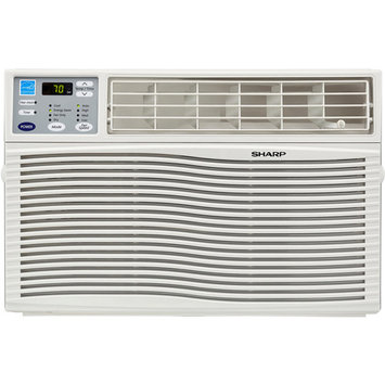 Sharp - 6,000 Btu Window Air Conditioner - White