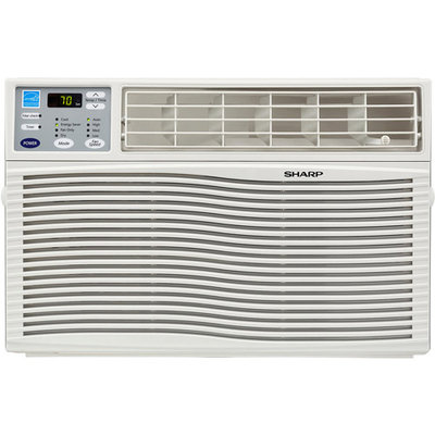 Sharp Energy Star 8,000 BTU Window-Mounted Air Conditioner with Remote Control