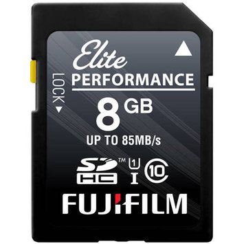 Fujifilm 8GB Class 10 UHS-1 SDHC Memory Card
