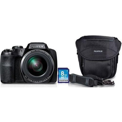 Fuji FinePix S8200 Bundle with SD Card and Camera Case - Compact Cameras