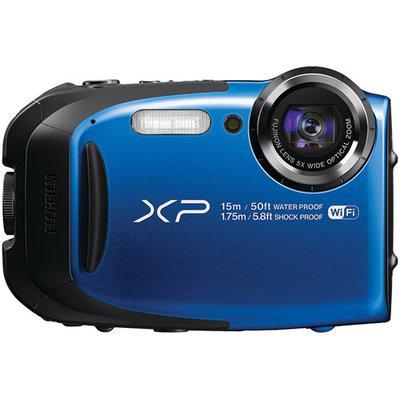Fujifilm Finepix Xp80 16.4 Megapixel Compact Camera - Blue - 2.7 Lcd - 169 - 5x Optical Zoom - 2x - Optical [is] - Ttl - 4608 X 3456 Image - 1920 X 1080 Video - Hdmi - Pictbridge - Hd (16449430)