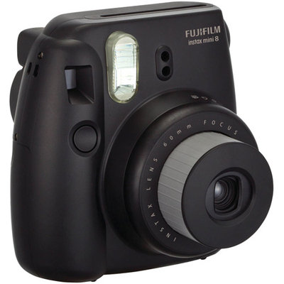 Fujifilm Instax Mini 8 Camera - Black - Instant Film - Black