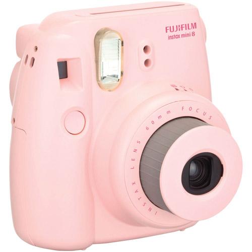 Fujifilm Instax Mini 8 Camera - Pink - Instant Film - Pink