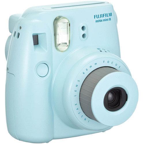 Slide: Fujifilm Instax Mini 8 Camera - Blue - Instant Film - Blue