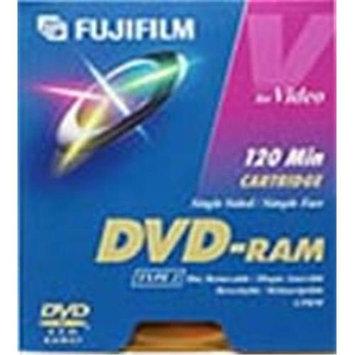 Fuji 23022030 DDPPAB120U 4.7GB DVD-RAM with Car