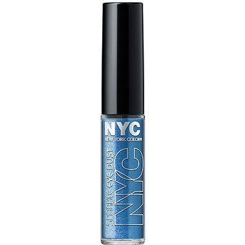 New York Color Sparkle Eye Dust Brilliant Sapphire 0.105 oz Purple