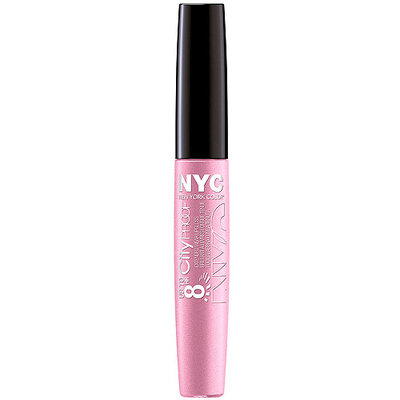 Nyc N.Y.C. 8 Hour City Proof Extended Wear Lip Gloss, Freeze Mauve, 0.22 Fluid Ounce (3 Pack)