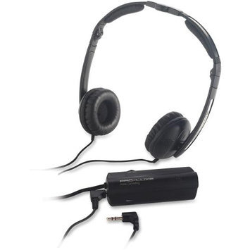 Compucessory Ccs-59224 Noise Canceling Headphone - Black (ccs59224)