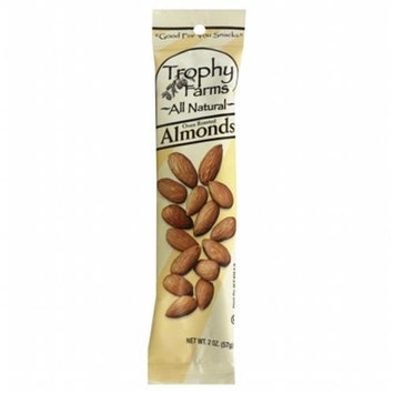 Trophy Farms Almonds 2oz Pack of 12