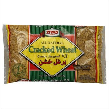 Ziyad Wheat Cracked Coarse Burghul No. 3 16 Oz Pack Of 6