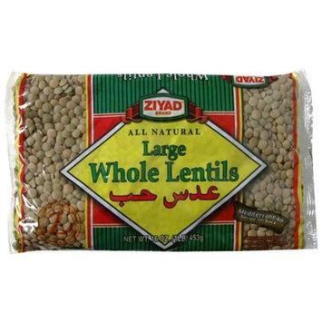 Ziyad Bean Lentil Whole -Pack of 6