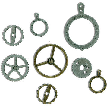 7 Gypsies 7Gypsies 7G12595 Industrial Metal Gears 14/Package