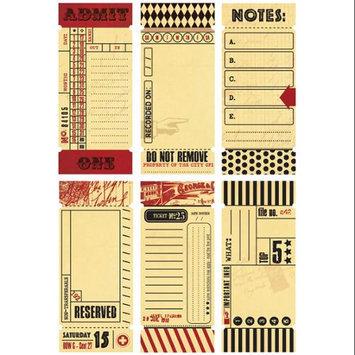 7 Gypsies 7G17960 Tickets-Journal 1.5 in. x 3.5 in. 12-Pkg