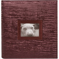 Ultra Pro 8.5inX11in 3 Ring Photo & Scrapbook Album-Bordeaux