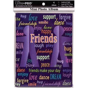 Ultra Pro Mini Photo Album 4X6 Holds 24 Photos-Friends