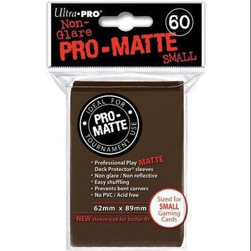 Ultra Pro Matte Small Light Brown DPD 10 Packs Of 60