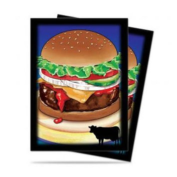 Burger Novelty Food Deck Protector Sleeves (50) ULP84322 Ultra Pro