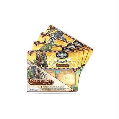 Pathfinder Skull and Shackles Character Mat (4-Pack) ULP84377 Ultra Pro