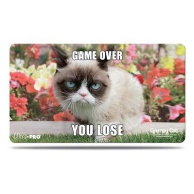 Ultra Products Play Mat: Grumpy Cat: Flowers 84447