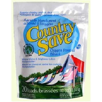 Country Save Oxygen Powered Bleach, Resealable Pouch, 20 loads