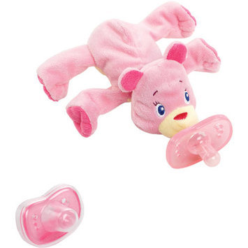 Kids Ii Bright Start Cozy Coos Deluxe Pacifier - Pink Cub