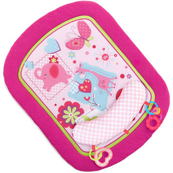 Bright Starts Sweet Savanna Prop and Play Playmat - Pink