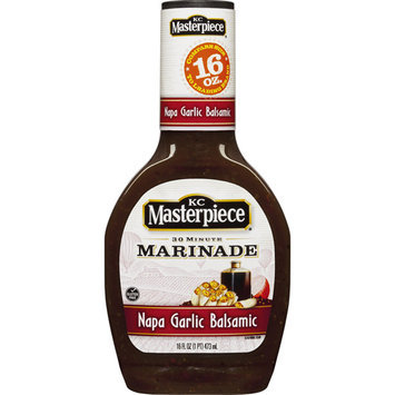 KC Masterpiece Marinade, Napa Garlic Balsamic