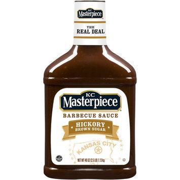 KC Masterpiece Barbecue Sauce, Hickory Brown Sugar, 40 Ounces