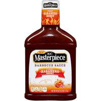 KC Masterpiece Fiery Habanero Honey Barbecue Sauce, 40 oz