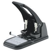 Swingline Heavy-duty 2-hole Punch - 2 Punch Head[s] - 100 Sheet Capacity - 9/32 - Black (swi-74190)