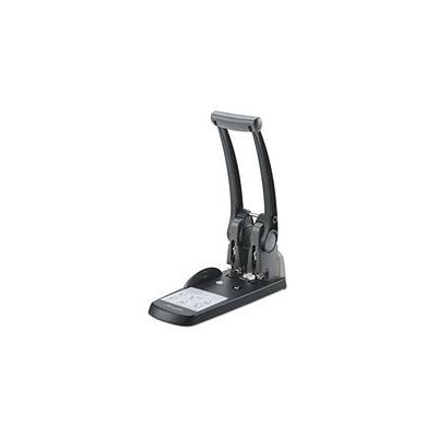 Swingline High Capacity 2-hole Punch - 2 Punch Head[s] - 300 Sheet Capacity - 9/32 - Black (swi-74192)