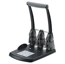 Swingline Extra High Capacity 3-hole Punch - 3 Punch Head[s] - 300 Sheet Capacity - 9/32 - Black (swi-74194)