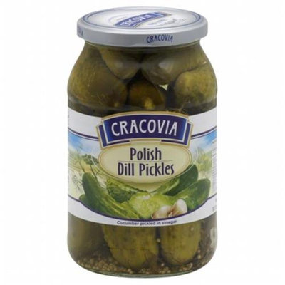 Cracovia Pickle Dill Polish 31.7 OZ -Pack Of 12