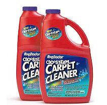 Rug Doctor Oxy-Steam Carpet Cleaner - 2 pk.