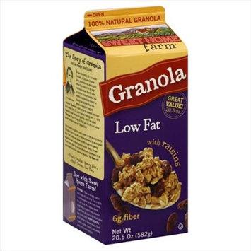 Sweet Home Farm Granola Low Fat with Raisins - 20.5 oz