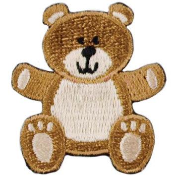 Blumenthal Lansing A001300-234 Iron-On Appliques-Teddy Bear 1-Pkg