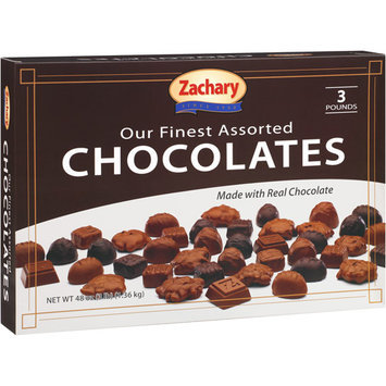 Zachary Fine Assorted Chocolates, 48 oz